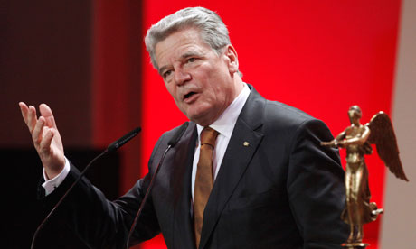 Joachim Gauck, nonpartisan consensus candidate to be President of Germany