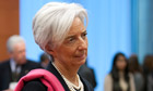 IMF chief, Christine Lagarde, will be in a troika supervising Greece's debt account