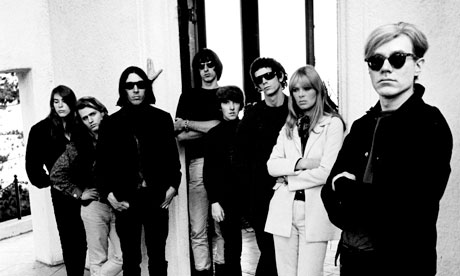 Andy Warhol with Velvet Underground and Nico