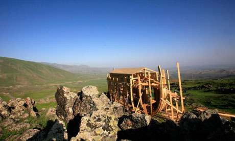Noah's Ark on Mount Ararat in eastern Turkey