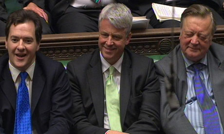 George Osborne, Andrew Lansley and Kenneth Clarke