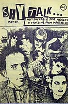 Shy Talk, manchester fanzine from 1977.