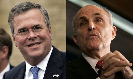 Jeb Bush Rudy Giuliani