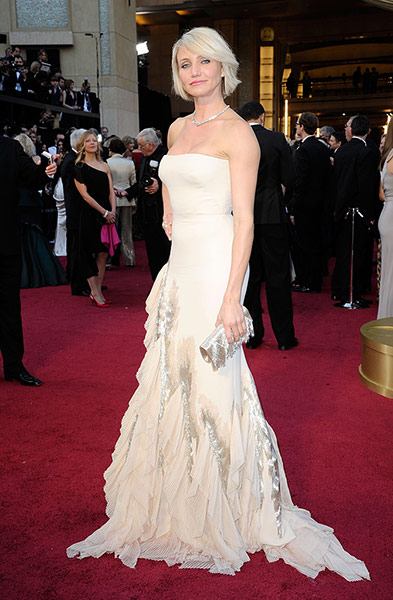 Oscars red carpet: Cameron Diaz in Gucci