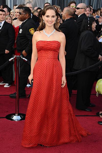 Oscars dresses: Natalie Portman