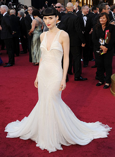 Oscars dresses: Rooney Mara