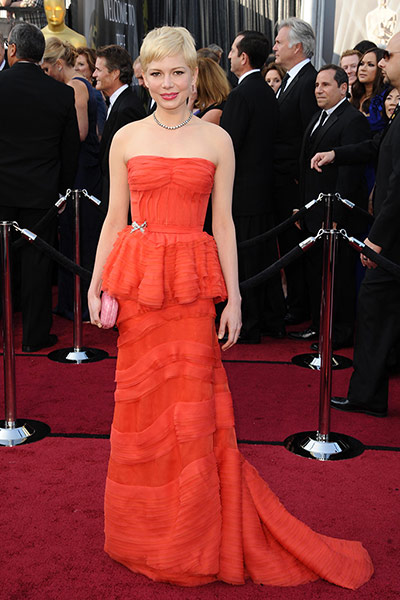 Oscars dresses: Michelle Williams