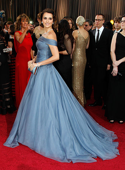 Oscars dresses: Penelope Cruz