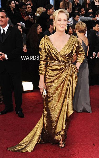 Oscars dresses: Meryl Streep