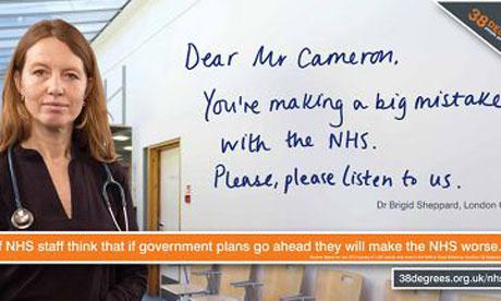 NHS campaign billboard