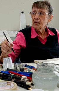 Jan Berenstain in 2011