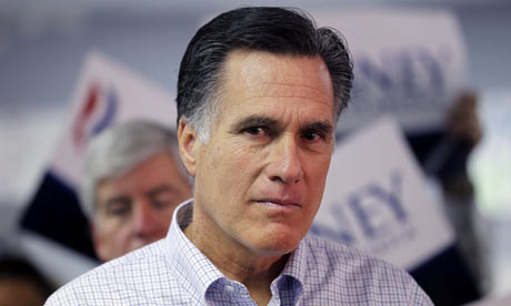 Mitt Romney at press conference