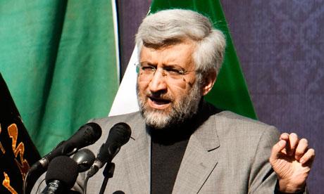Iran's chief negotiator Saeed Jalili