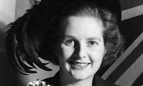 Margaret Thatcher in 1951