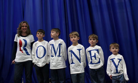 Mitt Romney supporters in Nevada