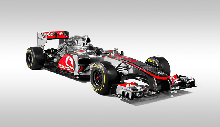F1 Cars 2012: The McLaren 2012 Formula One car, the MP4-27