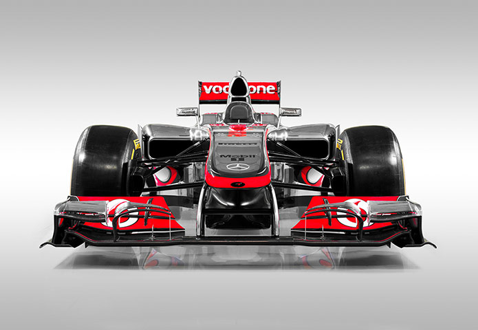 F1 Cars 2012: The 2012 McLaren Formula One car, the MP4-27