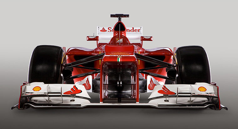 F1 Cars 2012: Ferrari Formula One F2012 racing car