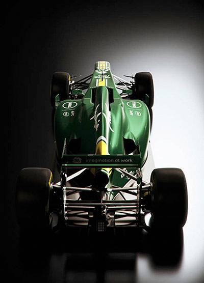 F1 Cars 2012: Caterham Racing 2012 F1 Car CT01