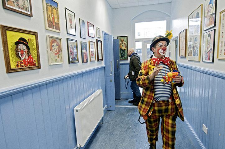 Grimaldi Day: clown portraits