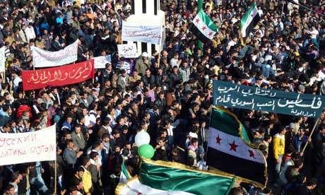 Syrians Protest