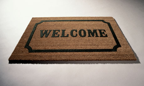 Welcome Mat Open Front Door Welcome mat  throwing open theOpen Door Welcome Mat