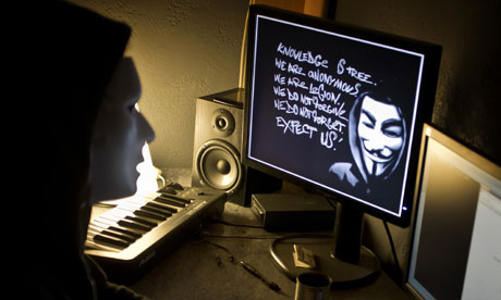Anontmous members indicted