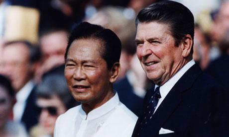 President Ferdinand Marcos on September 16, 1982
