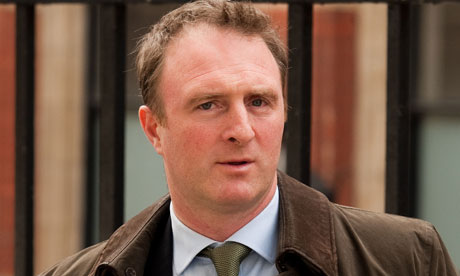 James Harding, editor of the Times, at court in London