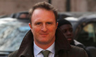 Times editor, James Harding, arrives to give evidence at the Leveson inquiry