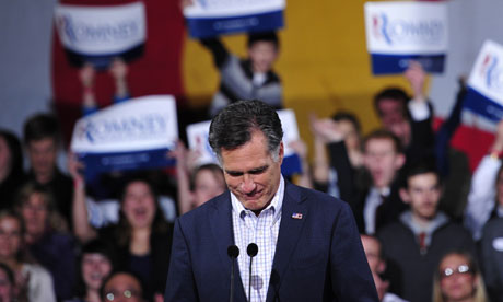Mitt Romney in Denver, Colorado
