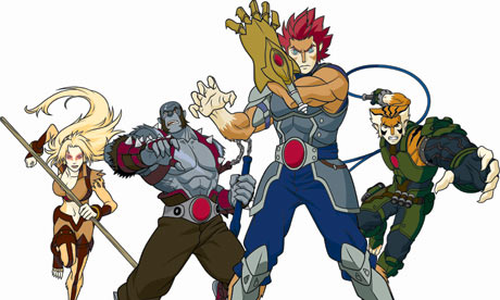 Thunder Cats Cartoon on Thundercats Are Go     Gerhard Zeiler S Responsibilities At Turner