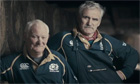 Scotland fans having their say about England in a Six Nations trailer that did make it to air