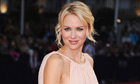 Naomi Watts will star as Diana, Princess of Wales, in the biopic Caught in Flight