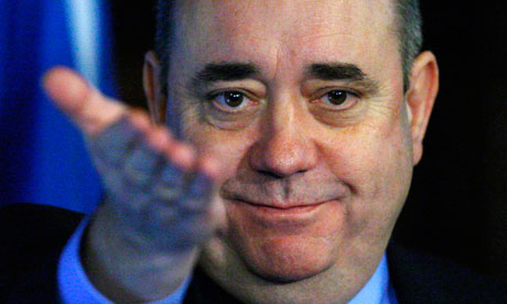 Alex Salmond wants Scots to embrace independence