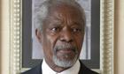 Kofi Annan held two sets of talks with Syria's Bashar al-Assad
