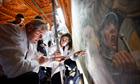 Art historians at Palazzo Vecchio