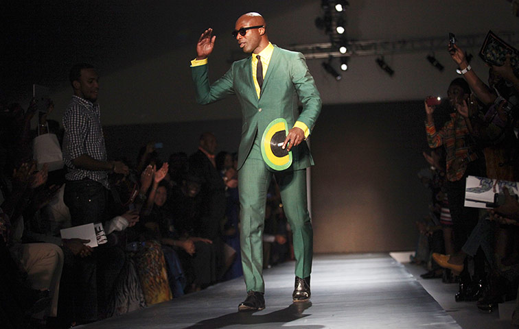 List Of Black Fashion Designers a British designer of