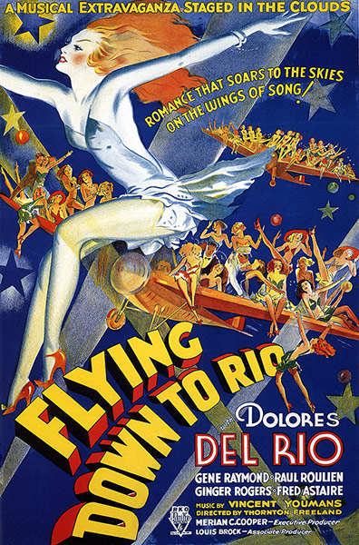 Top Selling Film Posters: Top Selling Film Posters - Flying Down to Rio, 1933