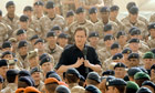 David Cameron at Camp Bastion in 2010