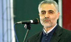 Head of Iran's Quds force warns enemies of the regime