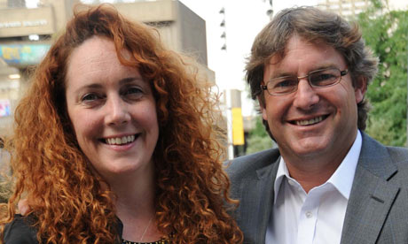 Rebekah Brooks with her husband Charlie