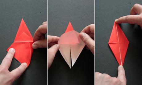 origami step six