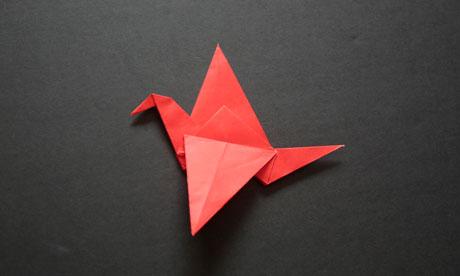 Origami step 11