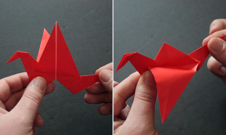 Origami step 12