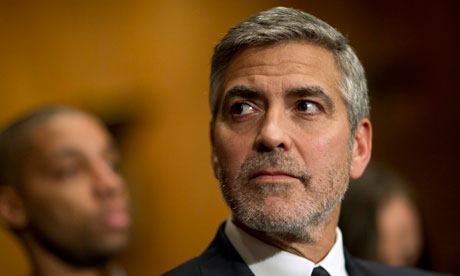 George Clooney testifies to the Senate committee