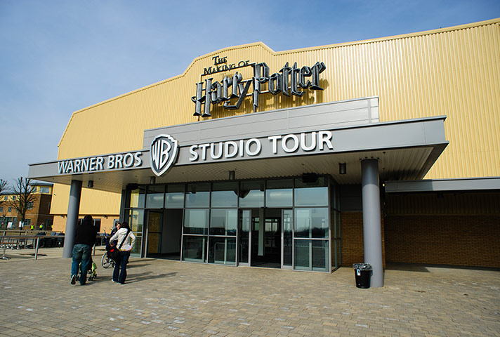 Making of Harry Potter: Exterior of The Warner Bros. Studio Tour London