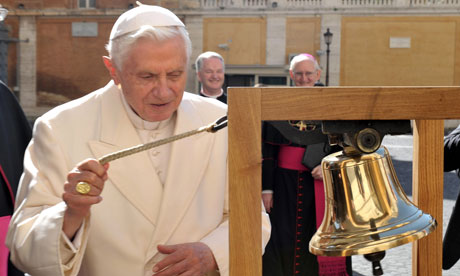 Pope Benedict XVI has commissioned a bespoke eau de cologne