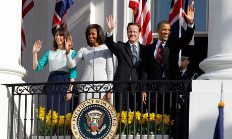 The Camerons and the Obamas