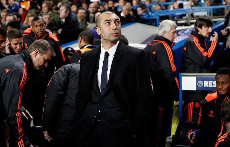 Roberto Di Matteo ahead o 001 - Di Matteo sees changes on horizon at Chelsea